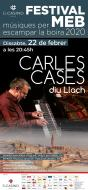 cartell Festival MEB 'Carles Cases diu Llach?'
