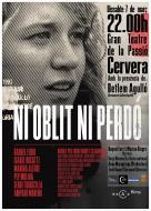 cartell Estrena del curtmetratge 'Ni oblit ni perdó'