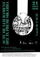 Lliurament del Premi Sikarra 2020 a l'Associació del Patrimoni Artístic i Cultural de Torà