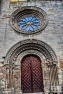 Verdú: Façana de l'església de Santa Maria  Ramon Sunyer