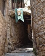 Guimerà: Pas cobert del carrer de Maimó  Ramon Sunyer