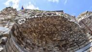 Guimerà: Detall de la torre  Ramon Sunyer