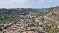 Guimerà: Vista del poble des de la torre  Ramon Sunyer