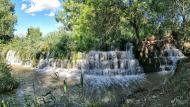 Ossó de Sió: Peixera d'Ossó de Sió al riu Sió  Ramon Sunyer