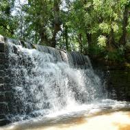 Concabella: Font i peixera de la Puda al riu Sió  Ramon Sunyer