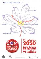 cartell Som Terra de Safrà 2020
