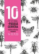 cartell 10è Festival de Pasqua de Cervera