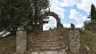 Sant Pere dels Arquells: Corral del monjo o cabana dels caçadors  Ramon Sunyer