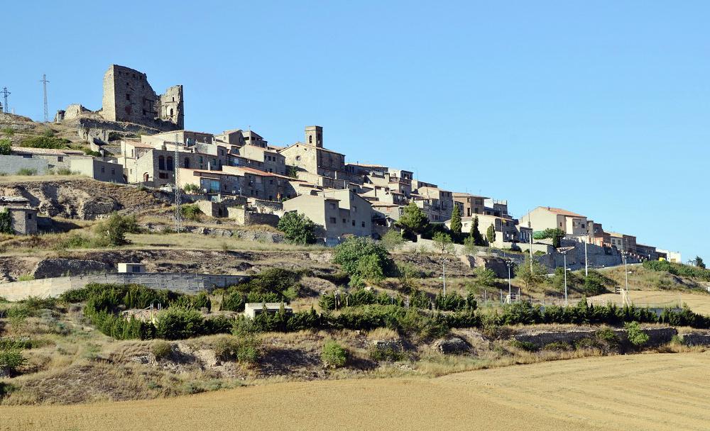 Vista del poble