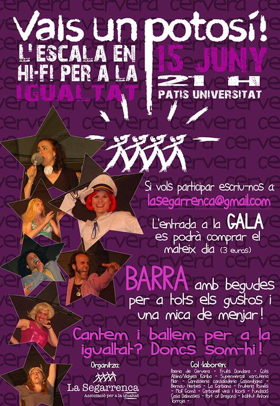 cartell Vals un Potosí 2013