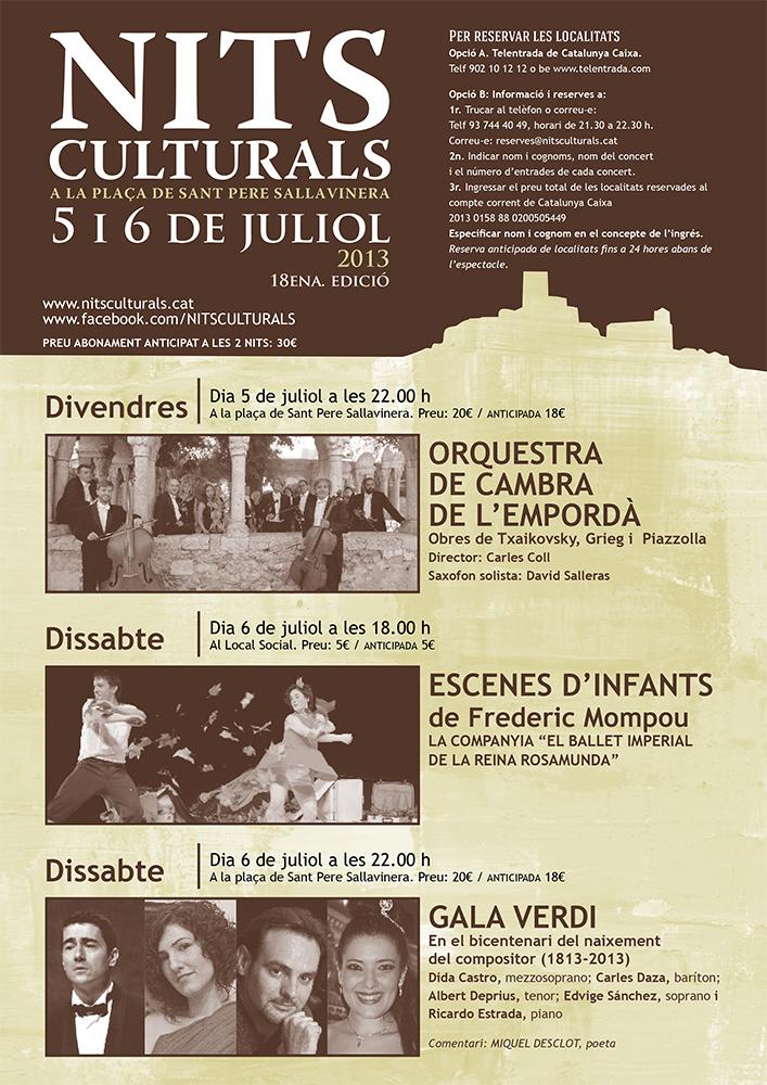 cartell 18 ena Nits Culturals