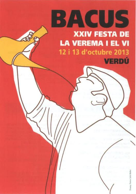 cartell 24ena Festa de la Verema i el Vi