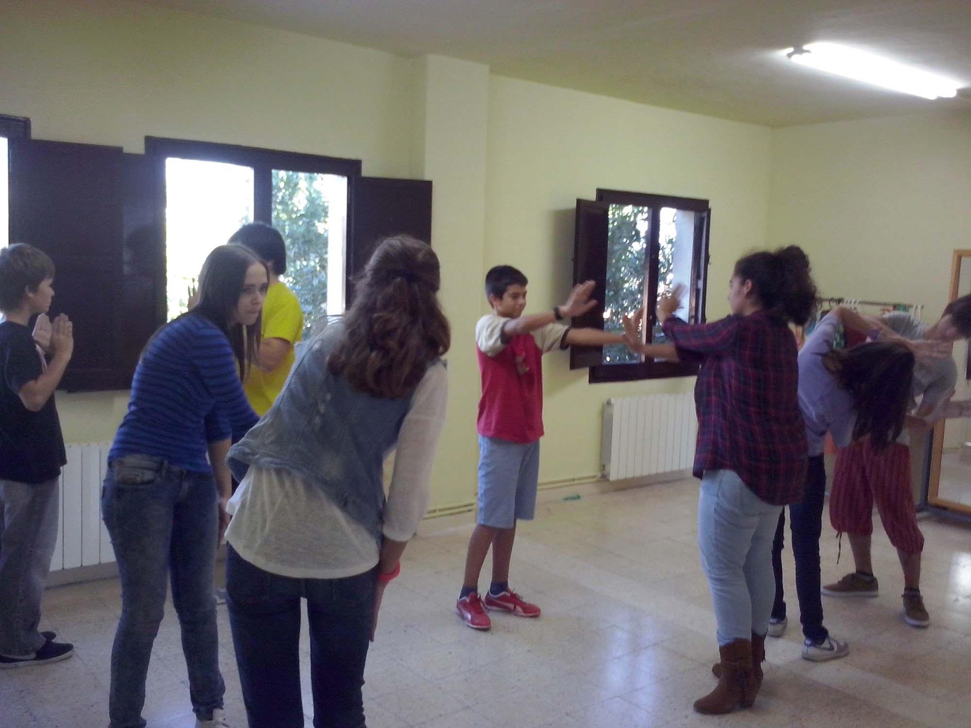 Classe de teatre per a joves