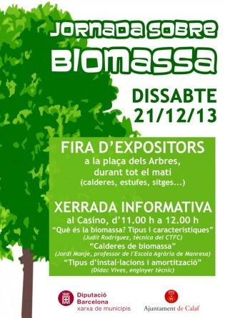cartell 1a Fira de la Biomassa
