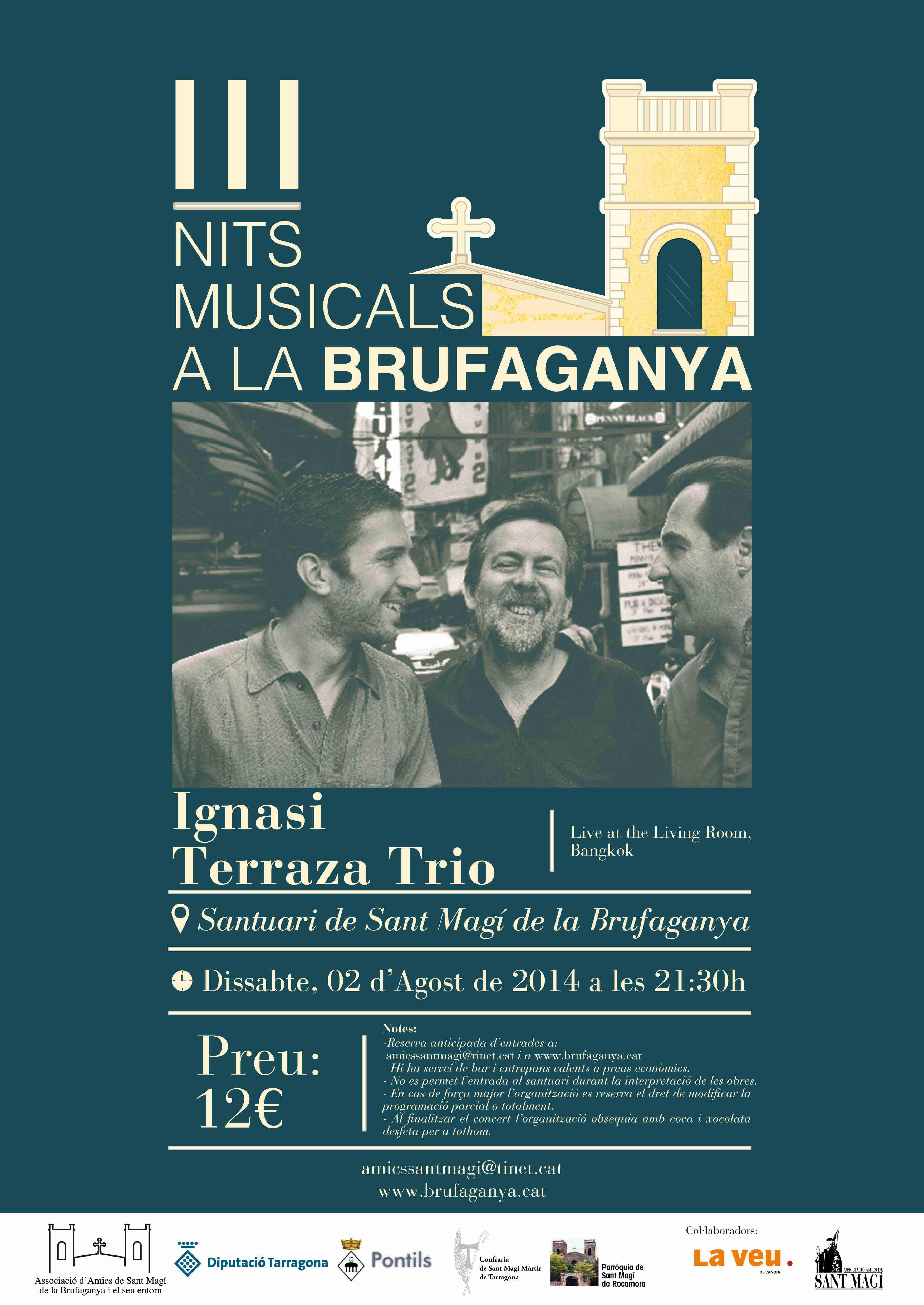 cartell III Nits Musicals a la Brufaganya