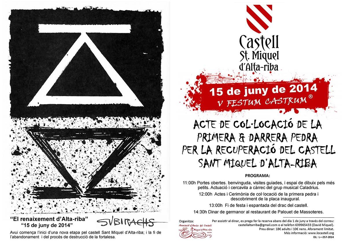 cartell V Festum Castrum