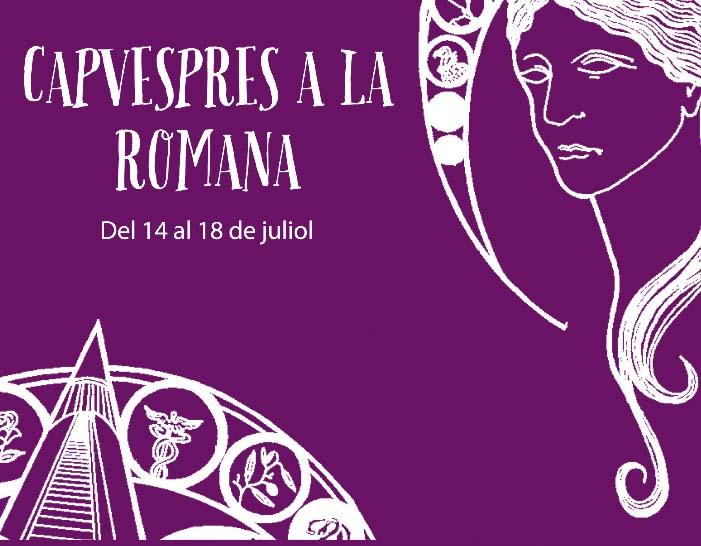 cartell Capvespres a la romana 2014