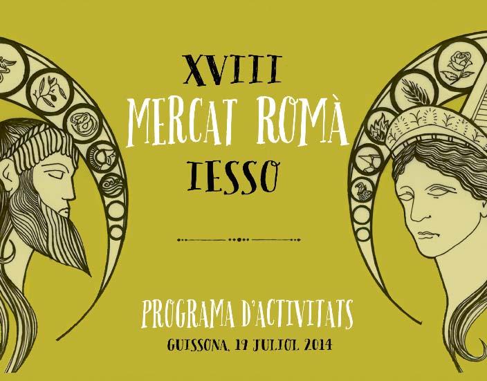 cartell XVIII Mercat Romà de Iesso