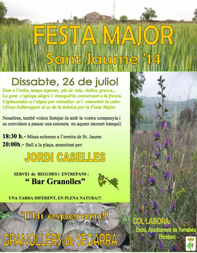 cartell Festa major Granollers 2014