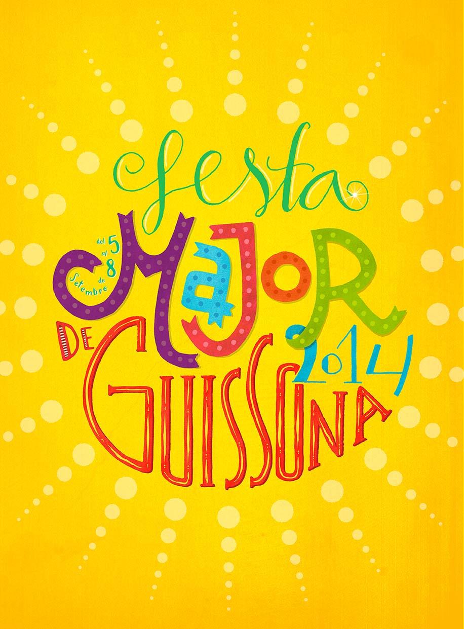 cartell Festa major Guissona 2014
