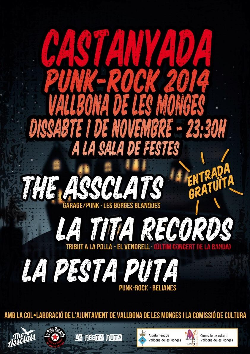 cartell Castanyada Punk-Rock 2014