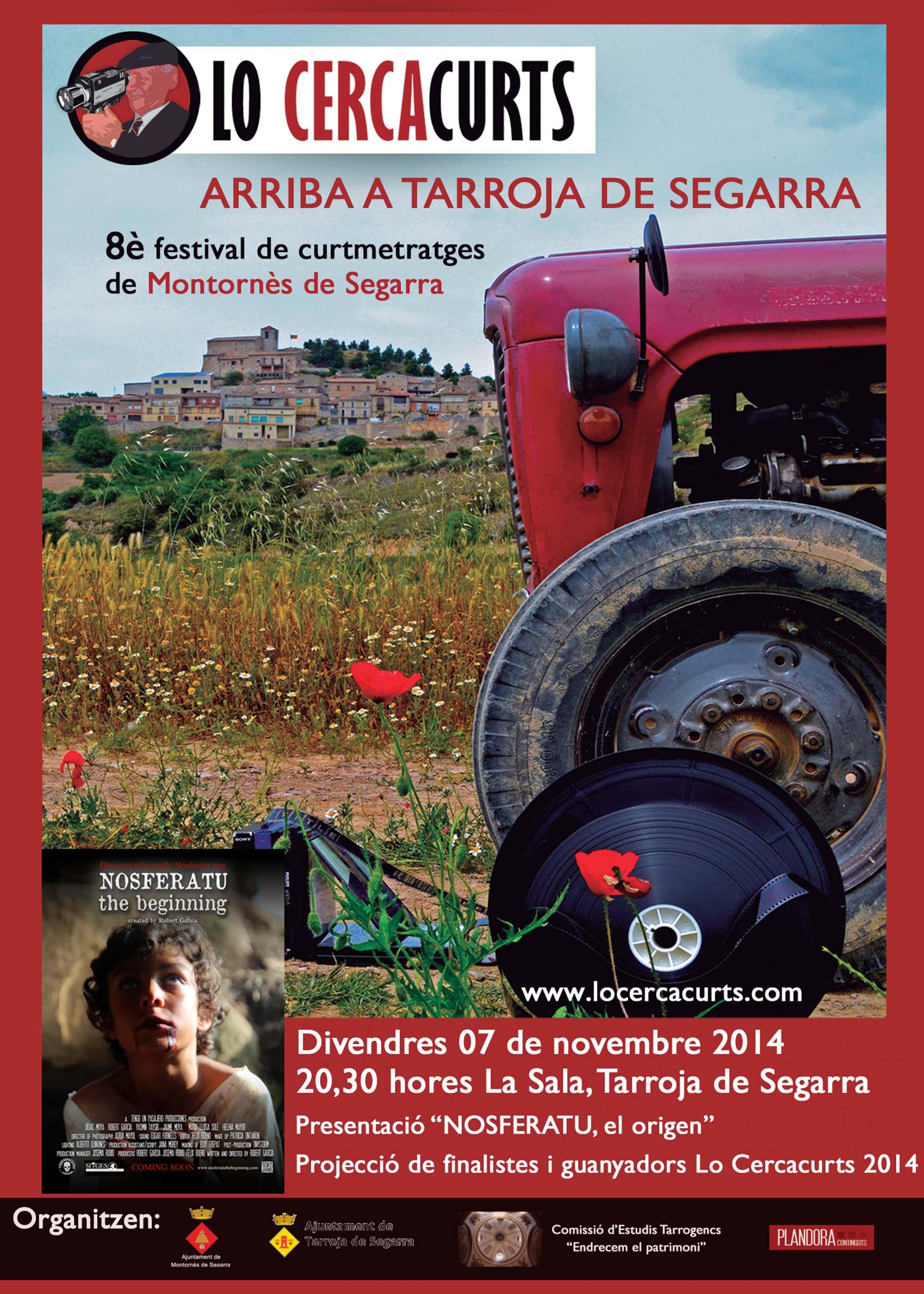cartell Lo Cercacurts arriba a Tarroja!