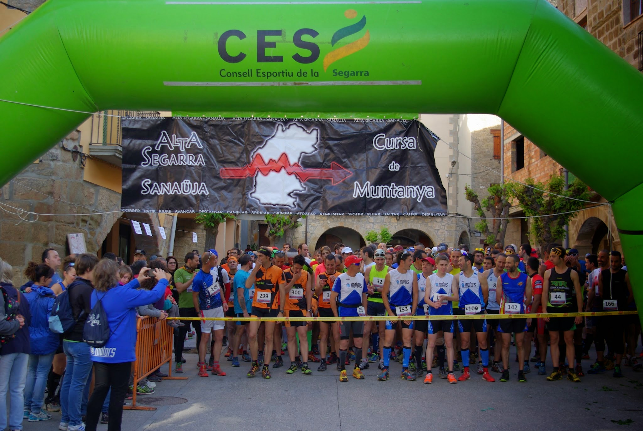 cartell IX Cursa de muntanya Alta Segarra