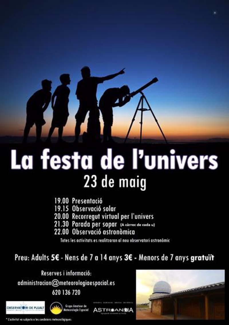 cartell Festa de l'Univers