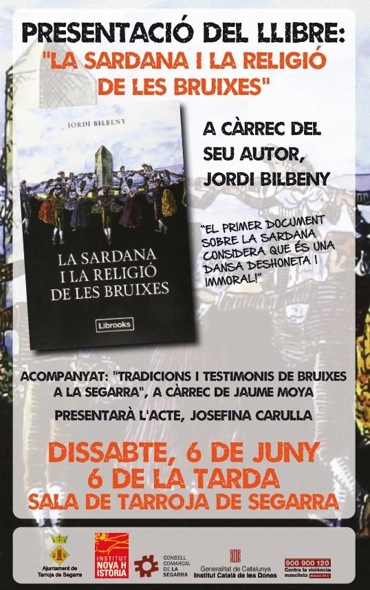 cartell LA SARDANA I LA RELIGIÓ DE LES BRUIXES