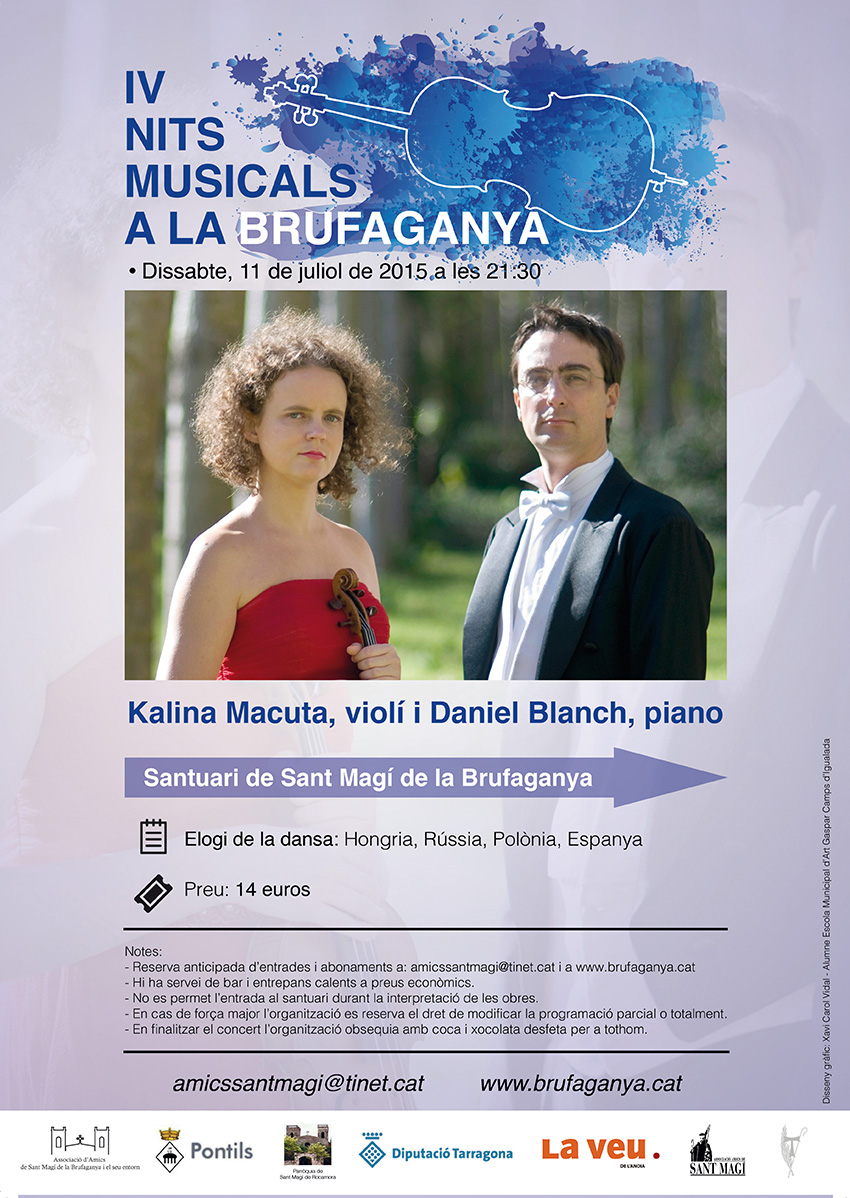 IV Nits Musicals a la Brufaganya cartell Macuta Blanch