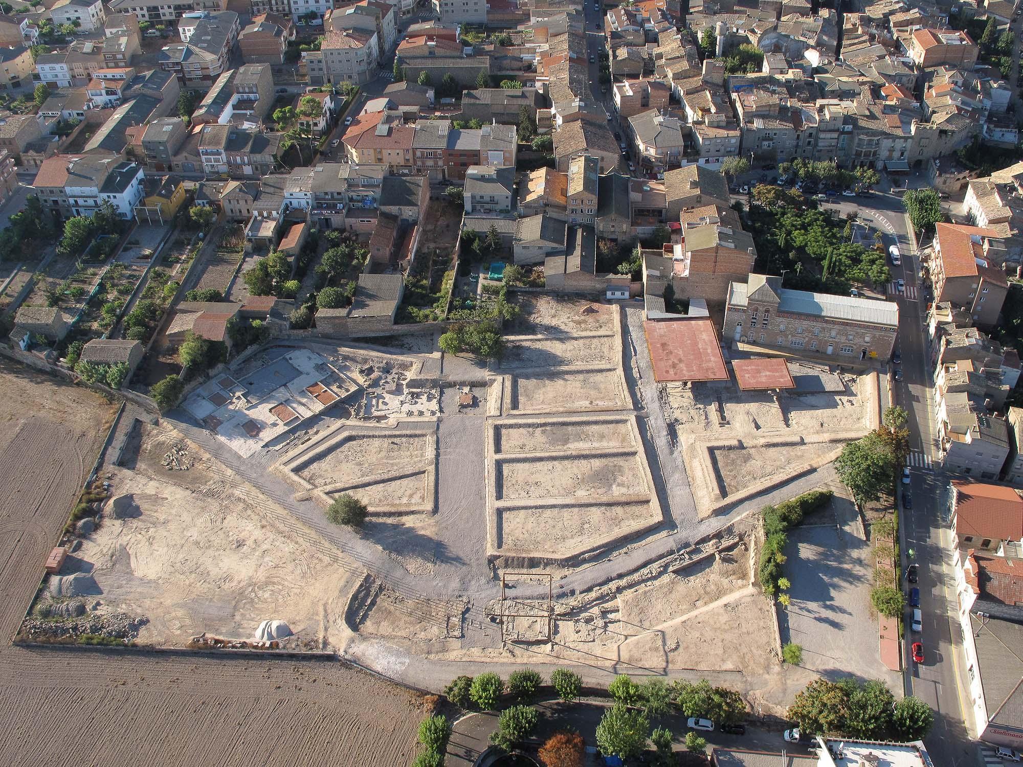 Site romain de Parc arqueològic Iesso