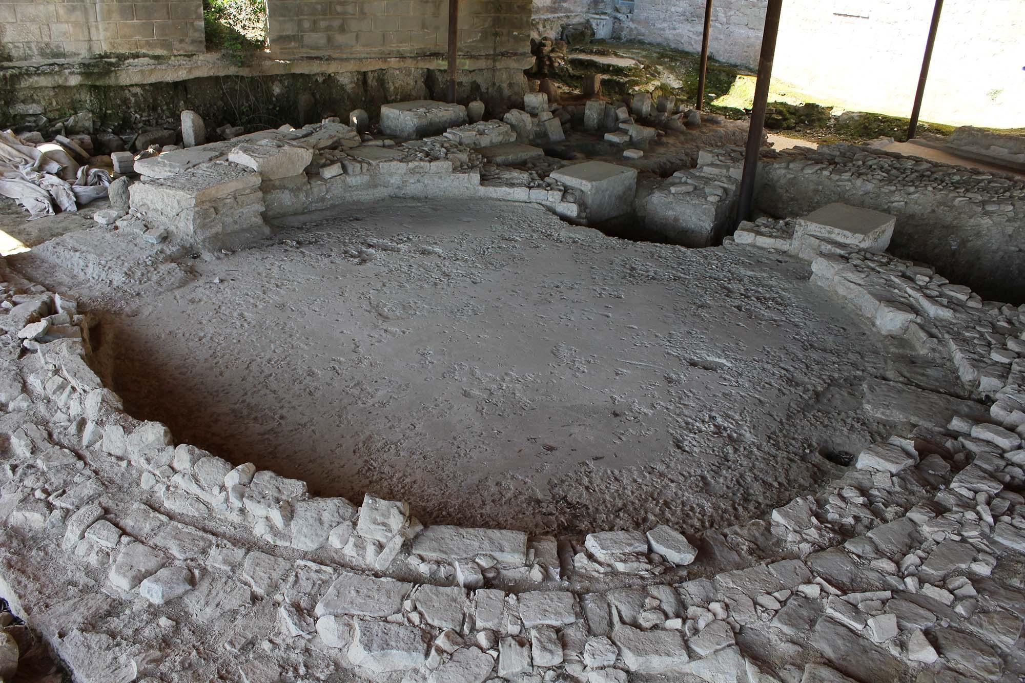 Yacimiento romano de Parc arqueològic Iesso