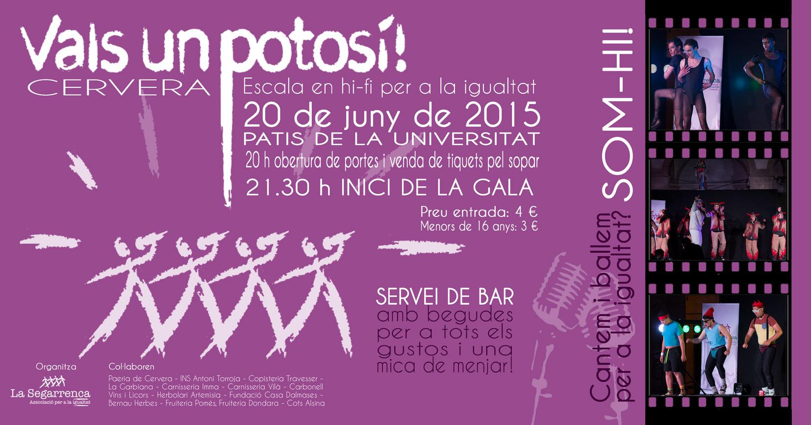 cartell Vals un Potosí!