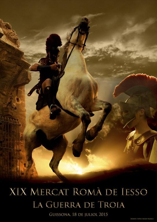 cartell XIX Mercat Romà de Iesso