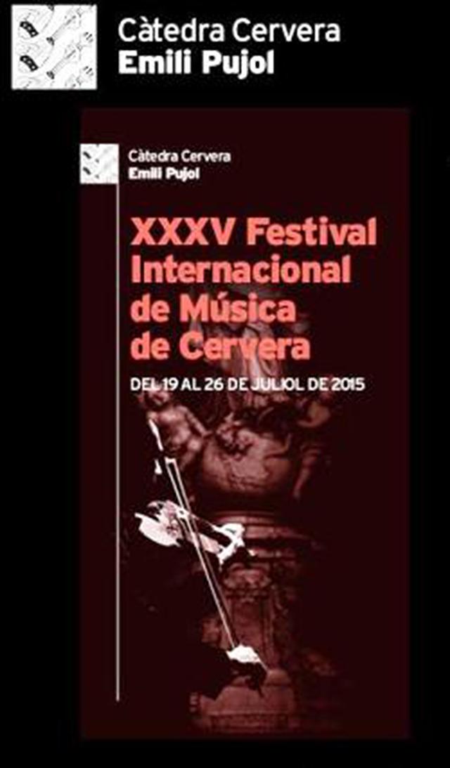 cartell XXXV Festival Internacional de Música