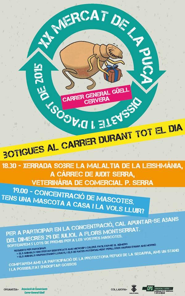 cartell XX Mercat de la Puça