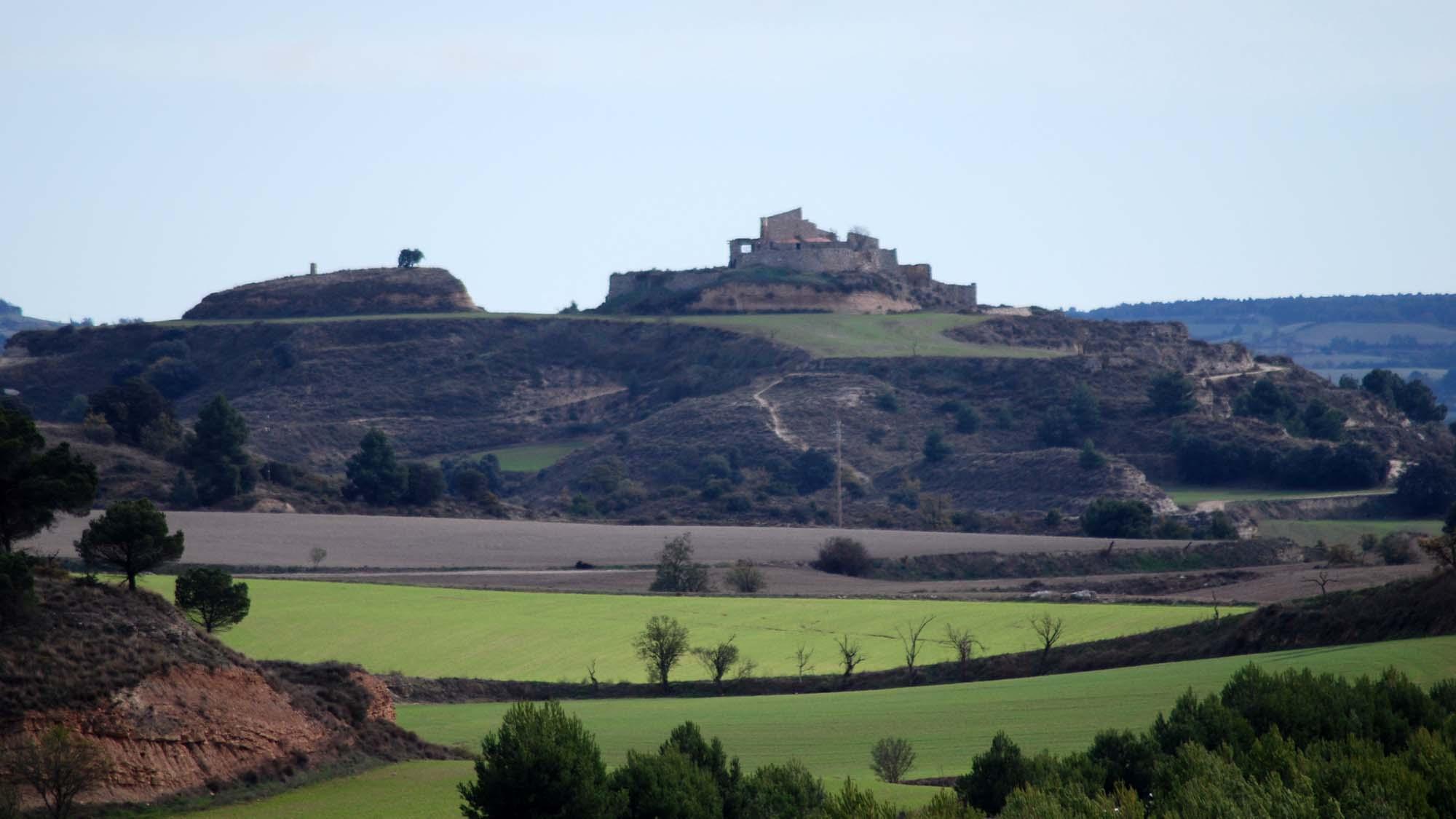 Biking trail Turons de la Segarra