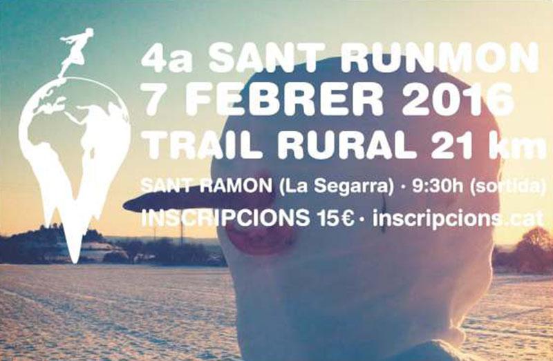 cartell 4a Trail Rural SantRunmon
