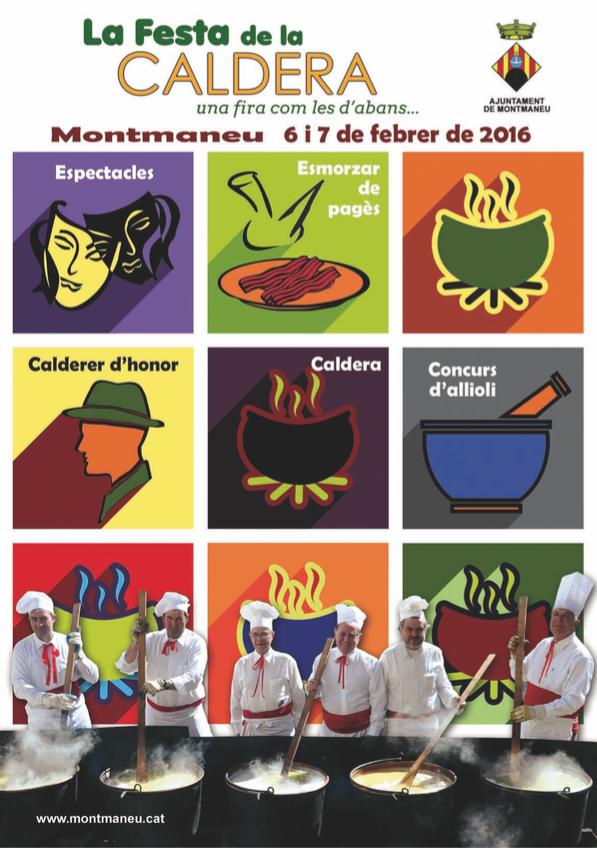 cartell Festa de la Caldera 2016