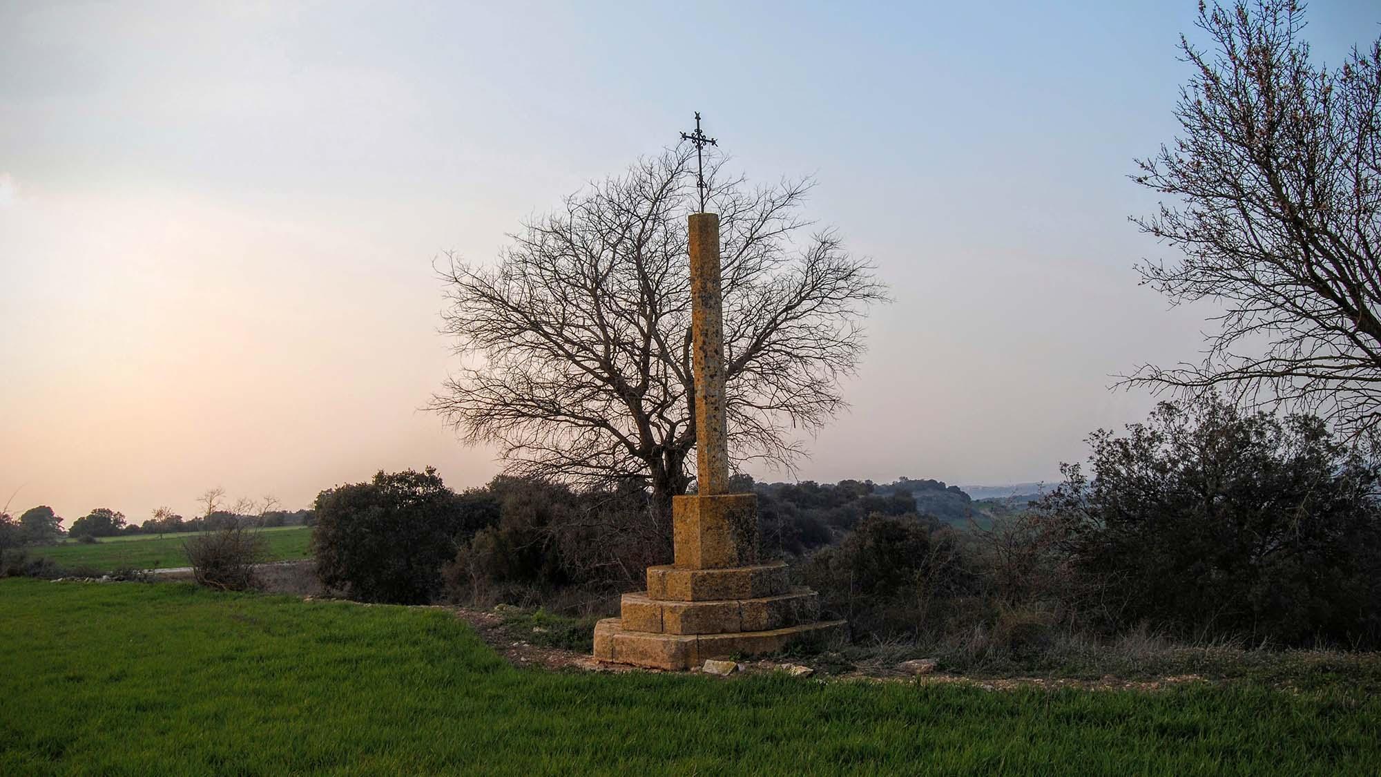 Wayside cross of Granyena