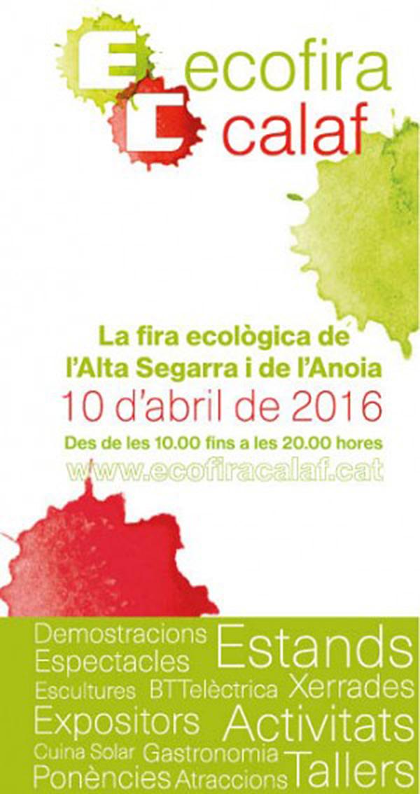 cartell EcoFira Calaf