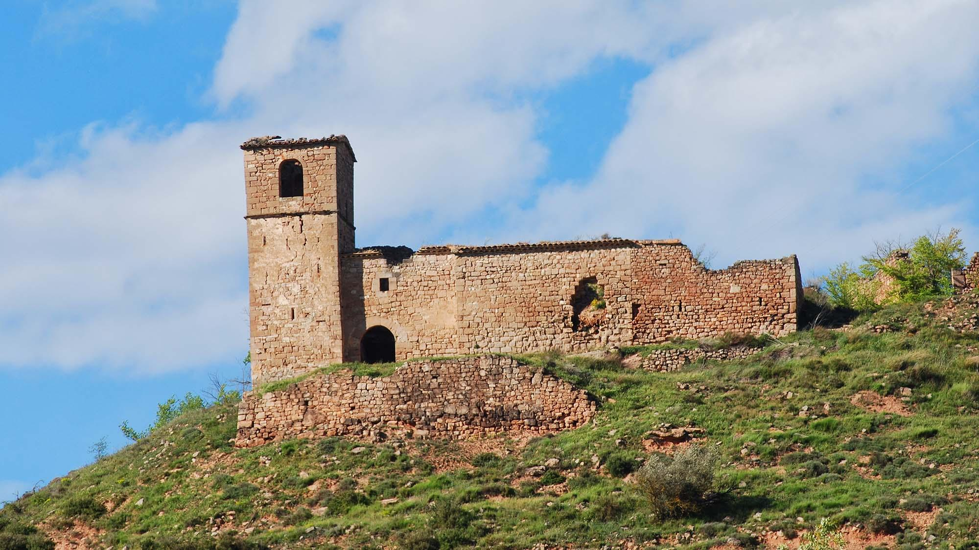 Church Sant Salvador de Miralles