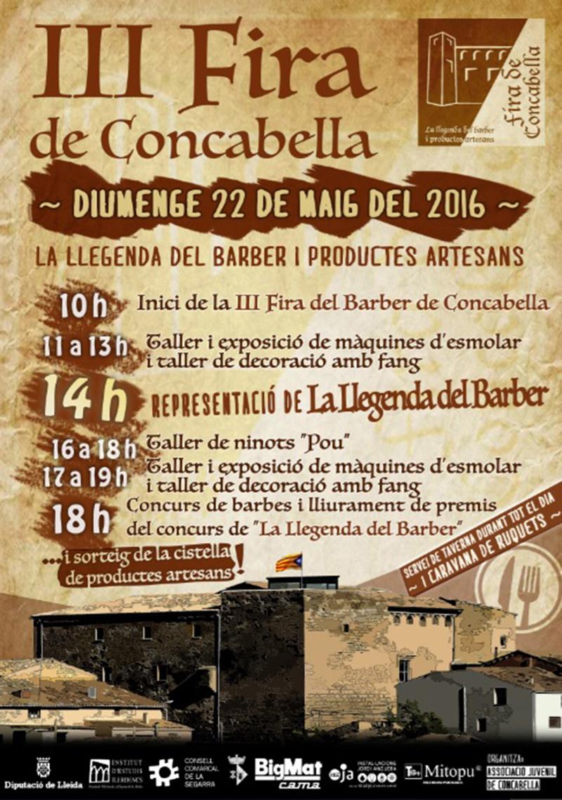 cartell 3a Fira del Barber