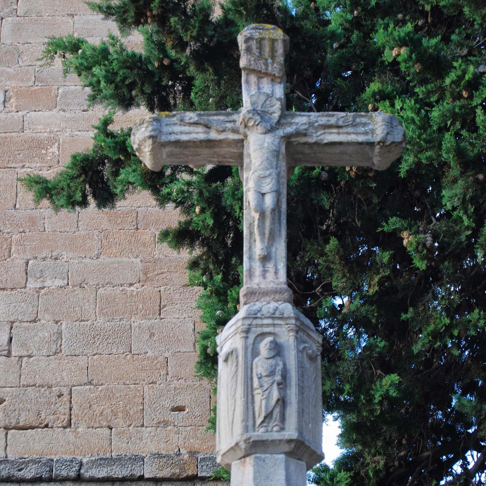 Wayside cross of Vallfogona
