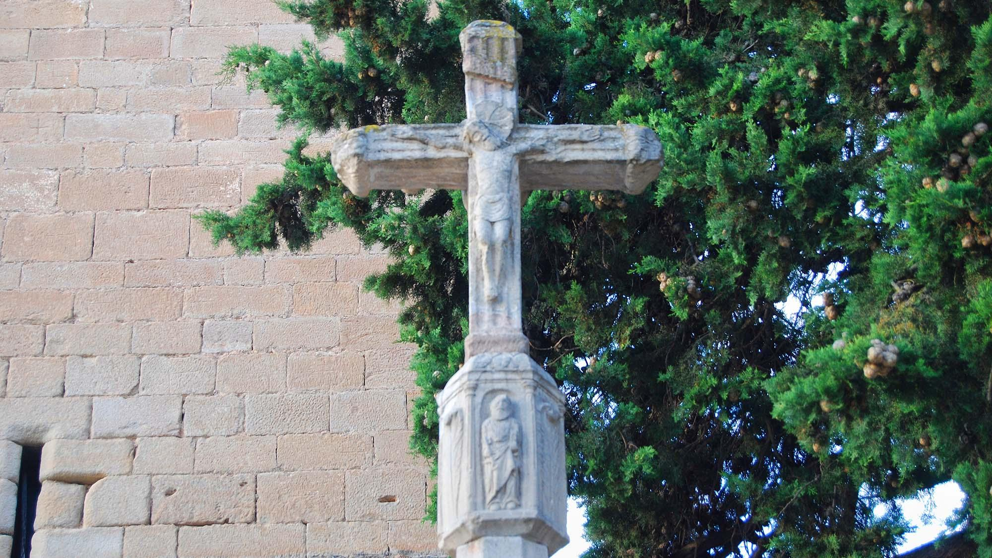 Creu de terme Vallfogona