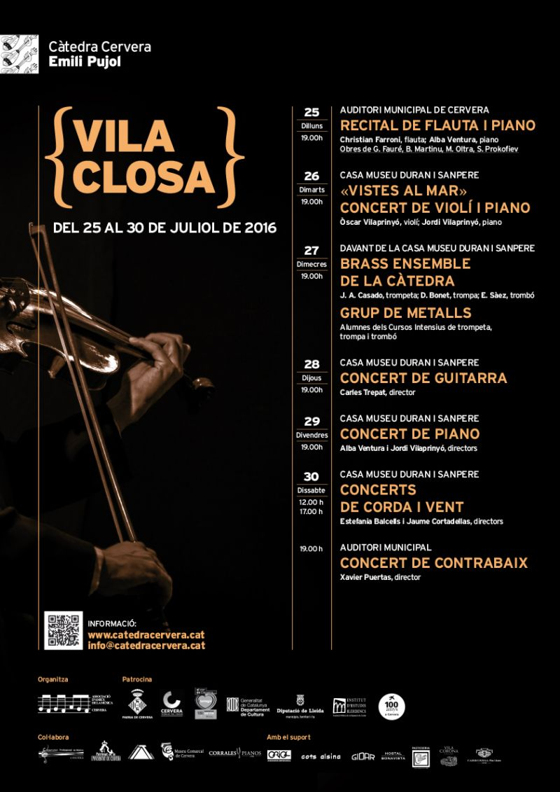 cartell Vila Closa