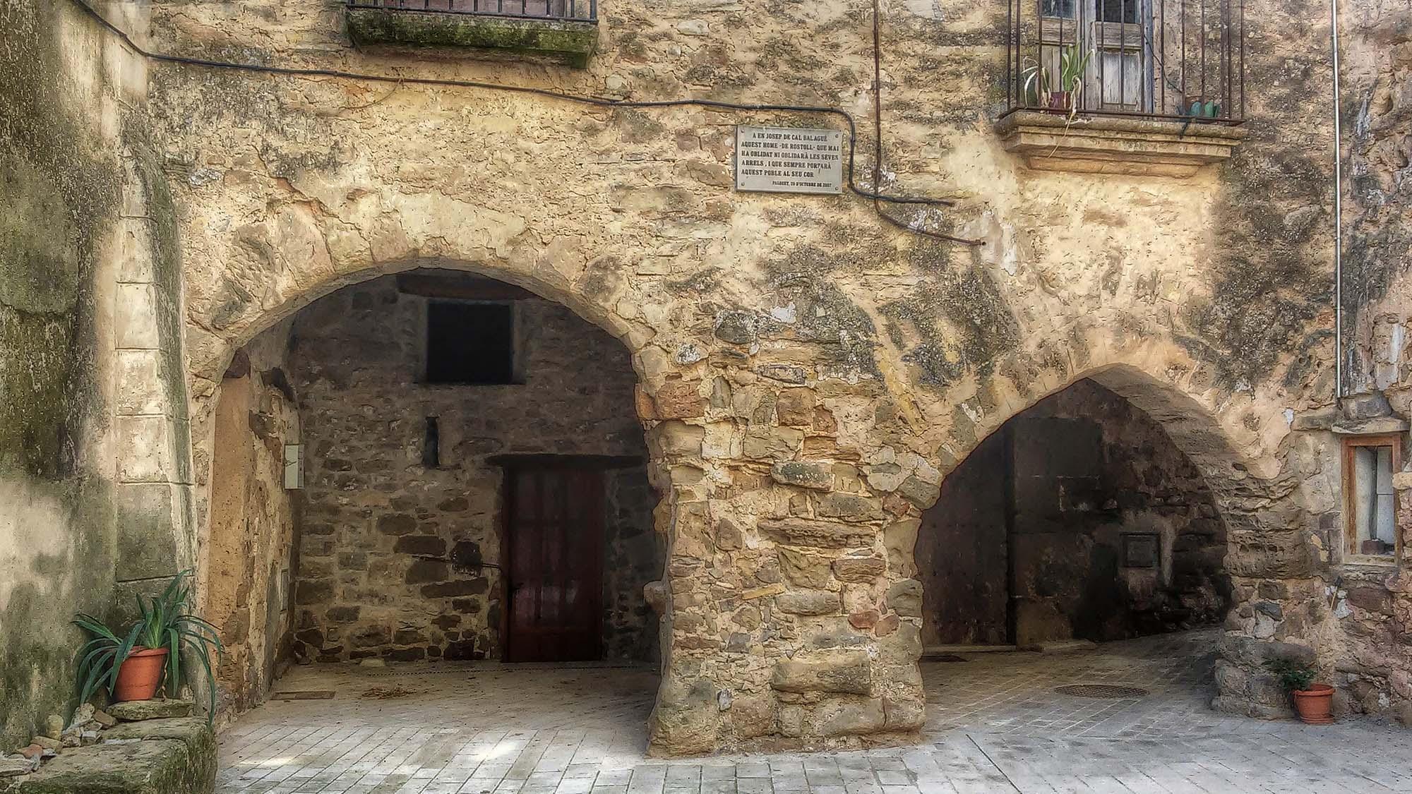 Vila vella Porxos