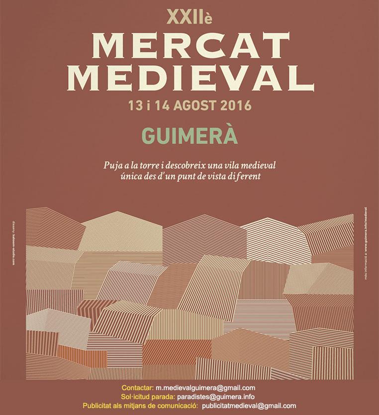 cartell XXII Mercat Medieval