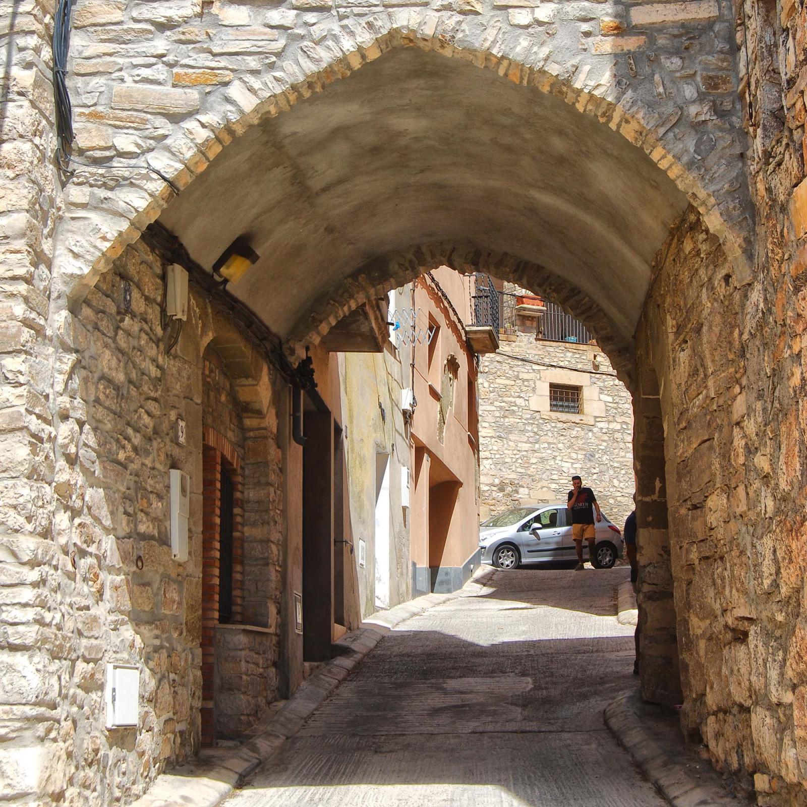 Espai  Portals del carrer del Pou