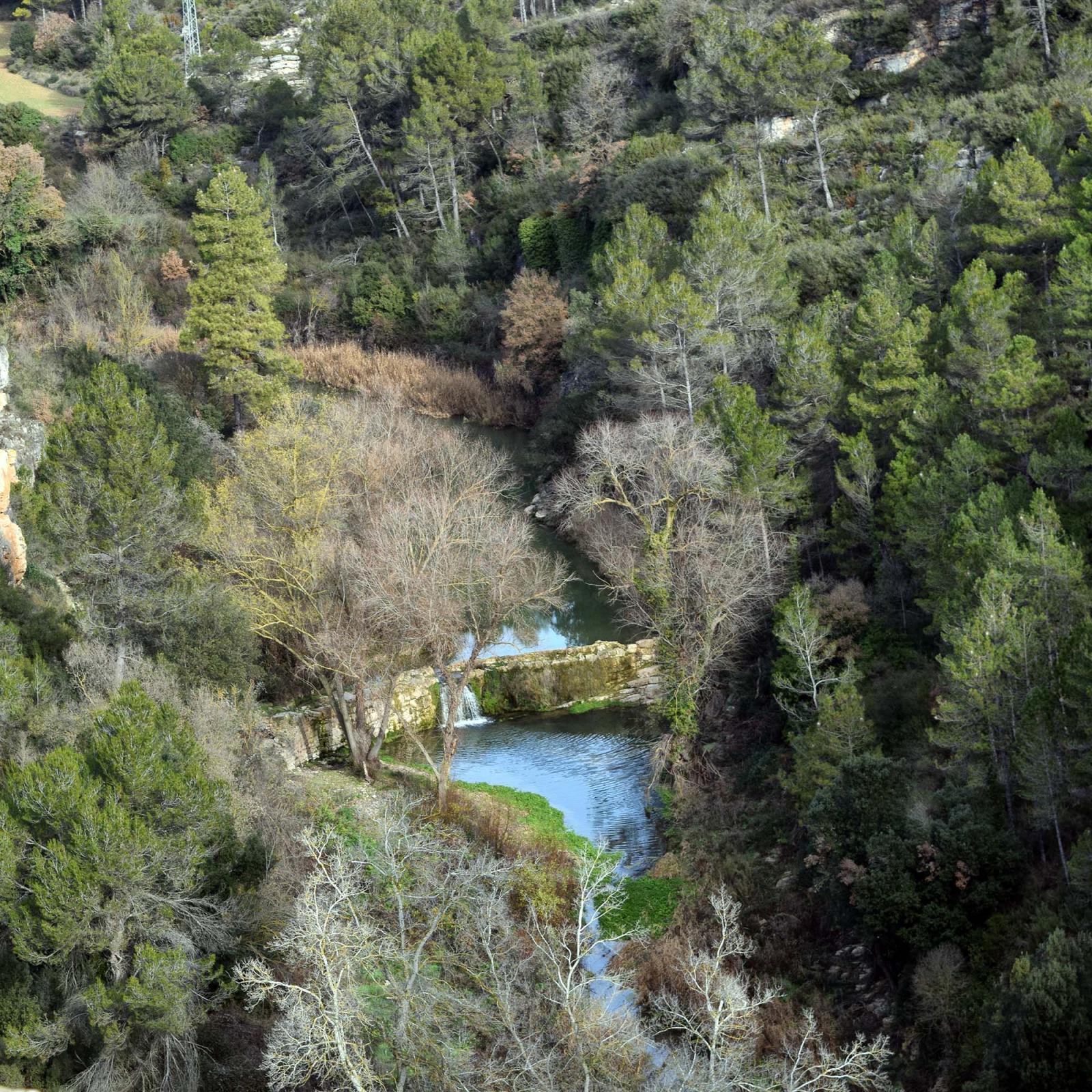 Espai fluvial  Resclosa del Gaià
